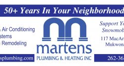 Martens Plumbing & Heating, Inc.